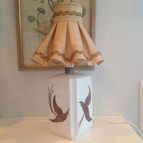 Bordslampa-Porslin-handmålad-1