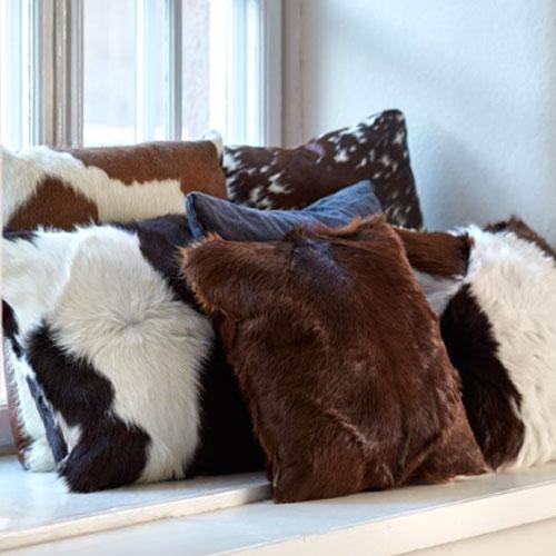 Kalv--och-kohudskudde
