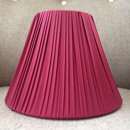 Lampskärm-A-form-4022--Vinröd