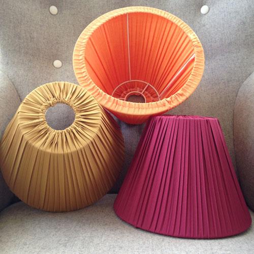 Lampskärm-A-form-4022-Vinröd,-Guld-och-Orange-23