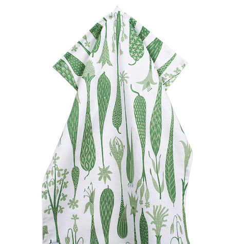 Printemps-Grön-handduk