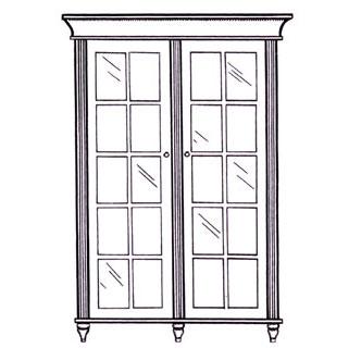 cabinet-dubbelt-teckning-4-kant