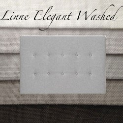 Sänggavel Linne Elegant Washed