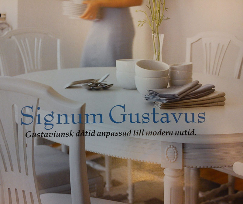 Skåp, Hyllor& Garderober SIGNUM GUSTAVUS GUSTAVIANSKA MÖBLER